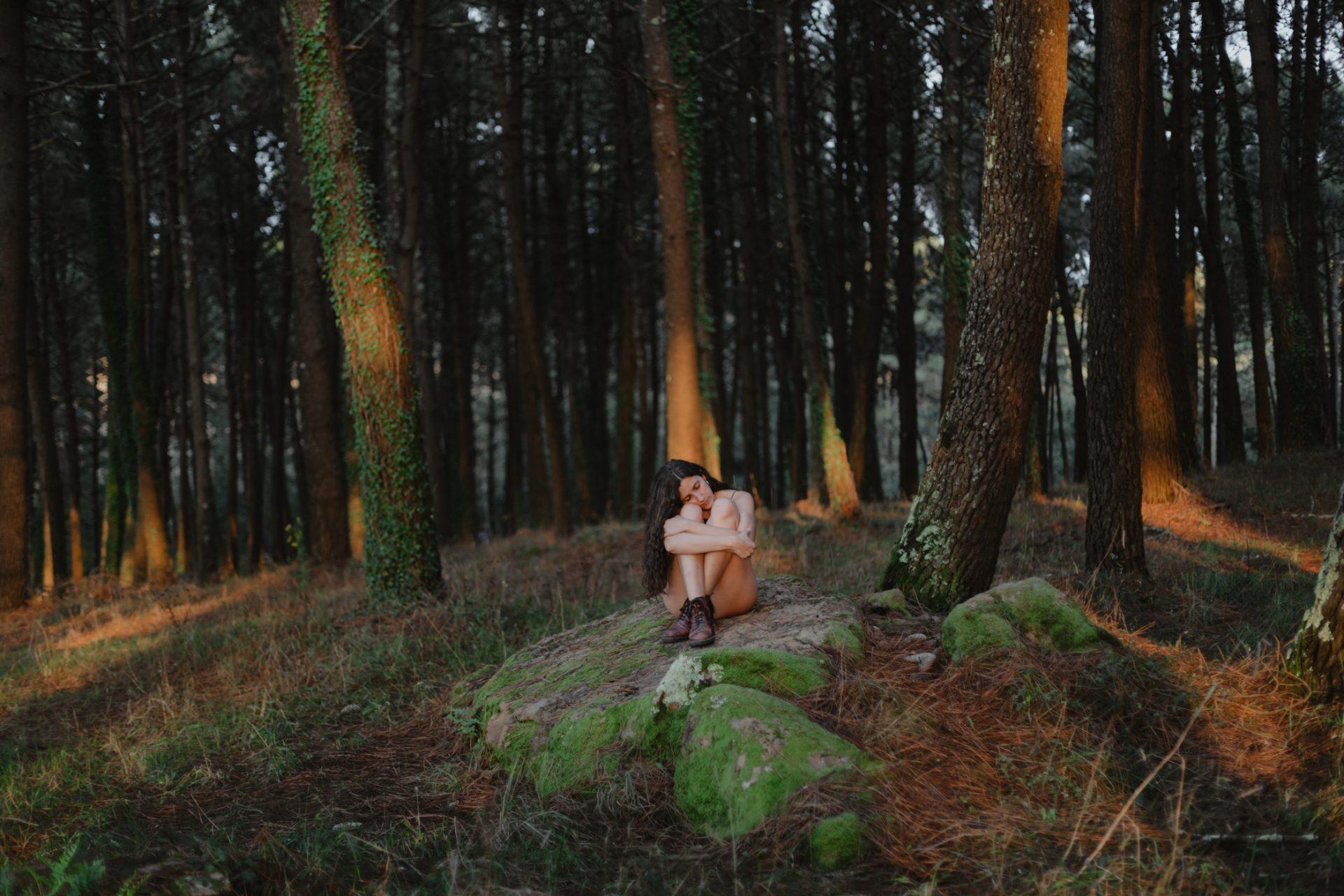 Fotografía creativa en bosque - Isla de Aurosa